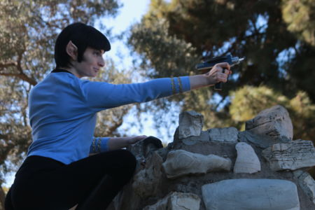 Spock - Star Trek Cosplay Phaser