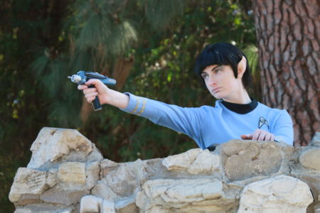 Spock - Star Trek Cosplay- Phaser