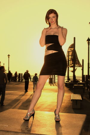 Jennifer at Redondo Beach pier
