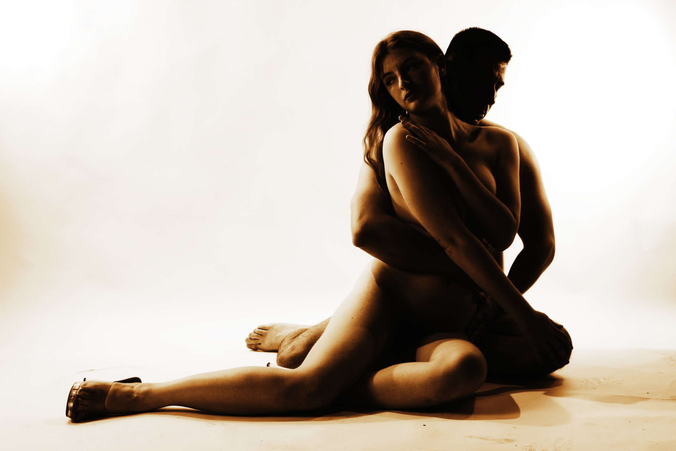 Trading Places nude man and woman